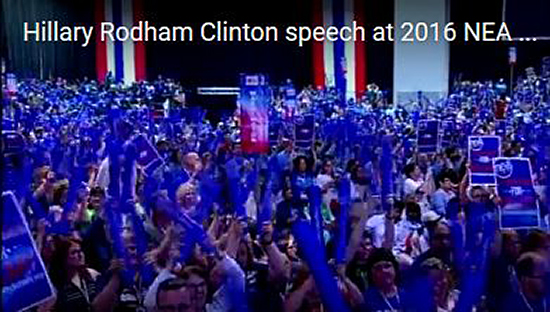Clinton Audience